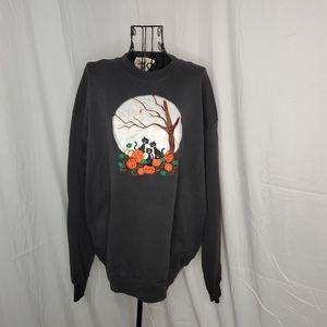 Peanut butter & jelly vintage Halloween sweatshirt